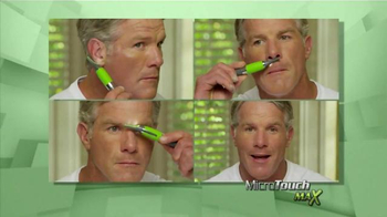 MicroTouch Max TV Spot, 'Look Your Best' Featuring Brett Favre