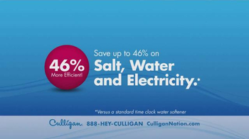 Culligan TV Spot, 'Most Efficient Water Softener' - Thumbnail 3