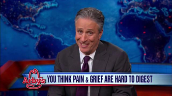 Arby's TV Spot, 'To Jon Stewart: Thank You for Being a Friend'
