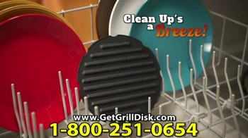 Grill Disk TV Spot, 'Real Barbeque Flavor' - Thumbnail 7