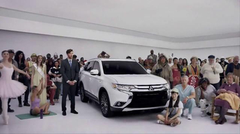 2016 Mitsubishi Outlander TV Spot, 'Spokespeople'