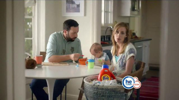 Tide HE Turbo Clean TV Spot, 'Baby Food' - Thumbnail 4