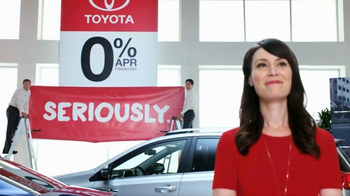 Toyota Annual Clearance Event TV Spot, 'Seriously' - 64 commercial airings