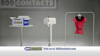 1-800 Contacts TV Spot, 'New Shirt'