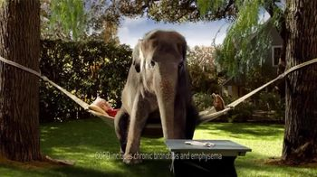 Spiriva TV Spot For COPD With Elephant - Thumbnail 2