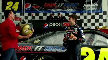 Papa John's TV Spot For Pepsi Max Featuring Jeff Gordon - Thumbnail 4
