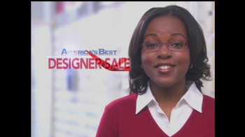 America's Best Contacts and Eyeglasses TV Spot For  Designer Sale - Thumbnail 4