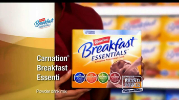 Carnation Breakfast Essentials TV Spot For Carnation Breakfast Essentials