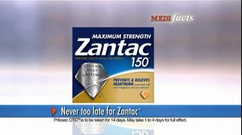 Zantac TV Spot, 'MediFacts: Zantac vs. Prilosec OTC' - Thumbnail 3