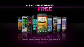 T-Mobile Fast is Free Father's Day Sale TV Spot, 'All 4G Smartphones' - Thumbnail 6