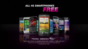 T-Mobile Fast is Free Father's Day Sale TV Spot, 'All 4G Smartphones' - Thumbnail 5