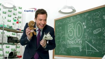 Capital One TV Spot, 'Baby and Bear' Featuring Jimmy Fallon - Thumbnail 3
