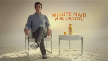 Minute Maid Pure Squeezed TV Spot 'Jealous Orange' Featuring Ty Burrell - Thumbnail 1