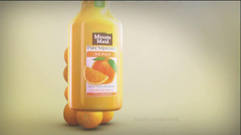 Minute Maid Pure Squeezed TV Spot 'Jealous Orange' Featuring Ty Burrell - Thumbnail 7