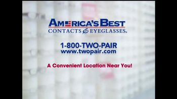America's Best Contacts and Eyeglasses TV Spot For Two Pairs of Glasses  - Thumbnail 7