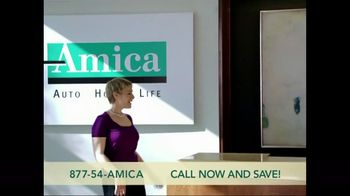 amica mutual insurance company tv commercial for agent client relationship. Black Bedroom Furniture Sets. Home Design Ideas