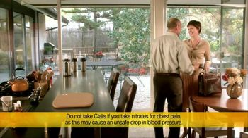 Cialis TV Spot For Daily Use Tablets