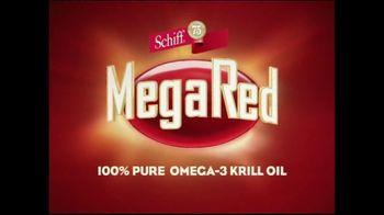 Schiff tv commercial for megared krill oil for Megared vs fish oil