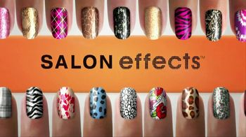 sally hansen tv commercial for salon effects nail polish