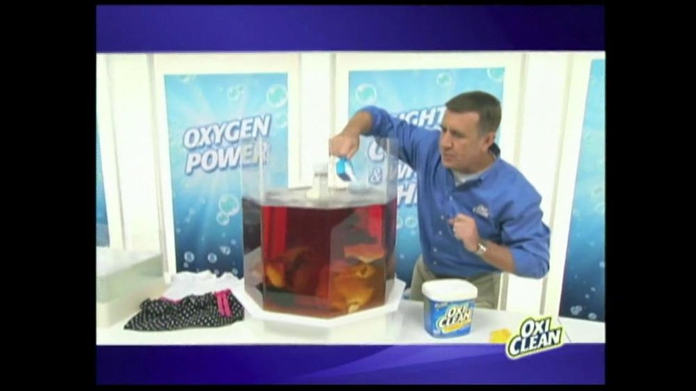 Oxiclean Tv Commercial For Versatile Stain Remover Ispot Tv
