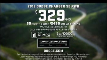 Dodge Challenger and Charger TV Spot, 'Summer Clearance Event' - Thumbnail 9