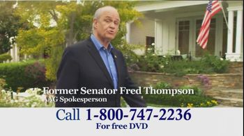 American Advisors Group TV Spot, 'Information' Featuring Fred Thompson