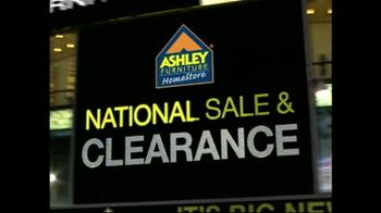 Ashley Furniture Homestore National Sale & Clearance TV Spot, 'Final Week'