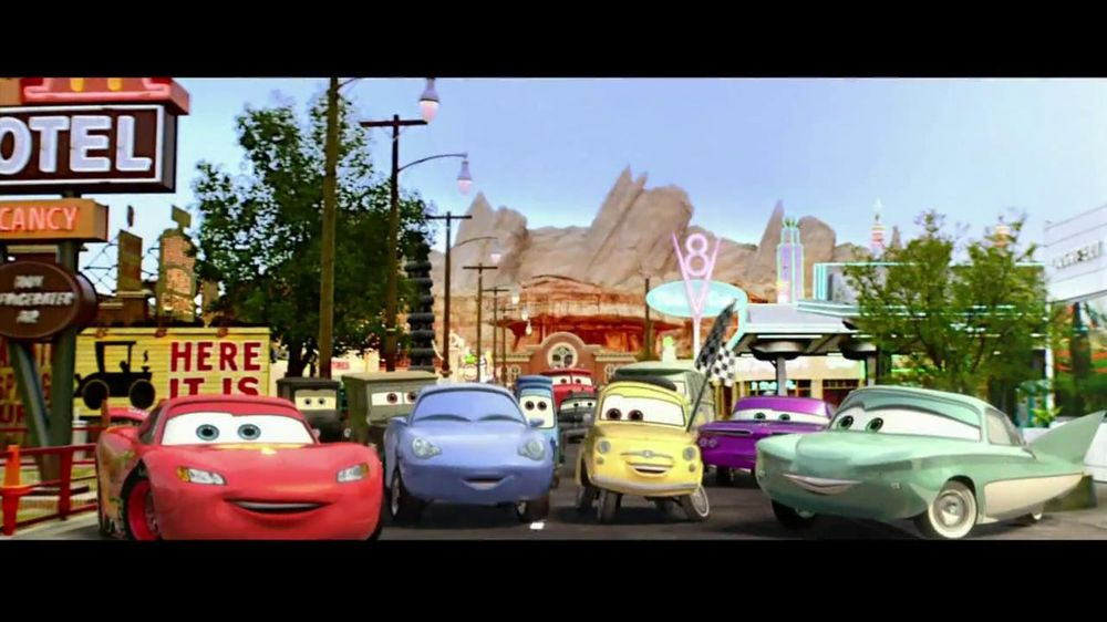 Disney California Adventure Theme Park Tv Commercial