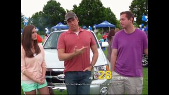 Ford Summer Sales Event TV Spot, 'Escape in the Escape' Feat. Mike Rowe - 170 commercial airings