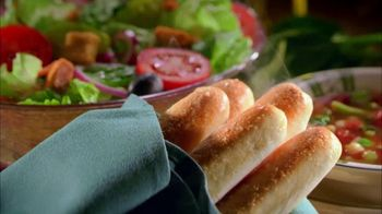 Olive Garden TV Spot For Unlimited Soup, Salad, And Breadsticks - Thumbnail 1