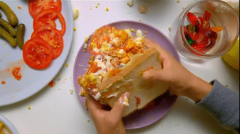 Bounty Extra Soft TV Spot, 'Sandwich'