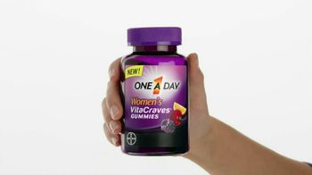 One A Day Women's VitaCraves Gummies TV Spot - Thumbnail 2