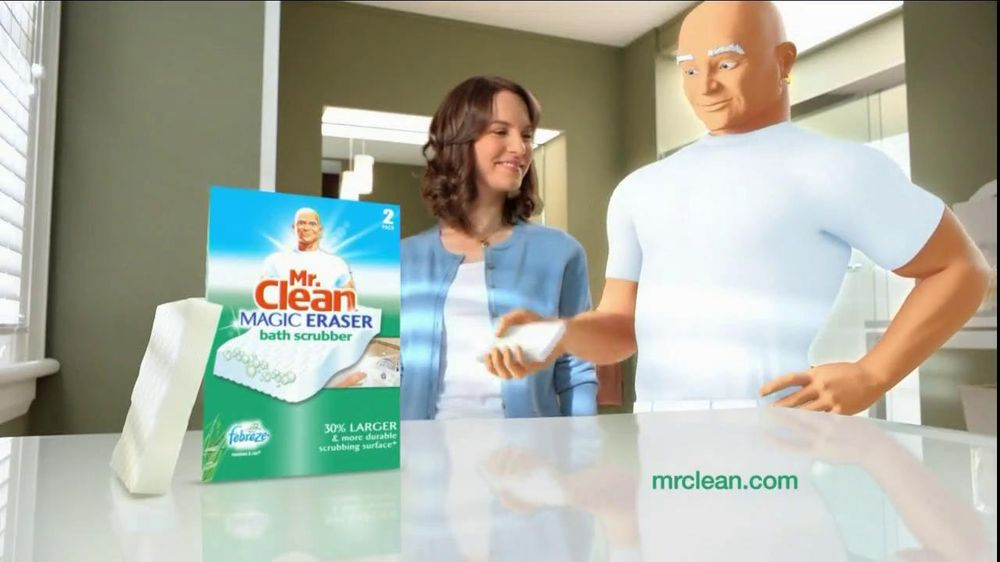 Great Mr. Clean Magic Eraser Bath Scrubber TV Commercial, U0027Clean Up The Universeu0027    ISpot.tv