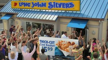 Long John Silver's Thick-Cut Cod Basket TV Spot, 'Crowd'
