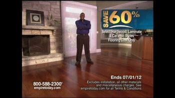 Empire Today TV Commercial for 60% Sale on Flooring - iSpot.tv