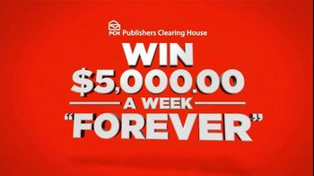 Publishers Clearinghouse TV Spot For $5,000 Forever Prize