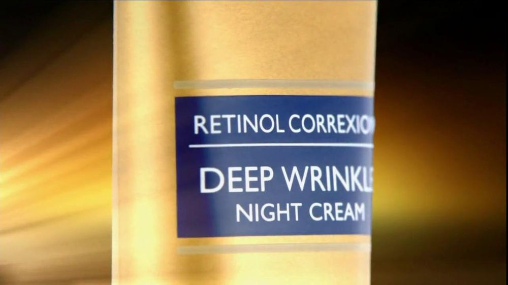 RoC Skin Care TV Commercial For Retinol Correxion Deep Wrinkle Night Cream