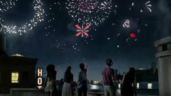 Dove Dark Chocolate TV Spot, 'Fireworks'