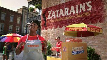 Popeyes Zatarain's Butterfly Shrimp TV Spot