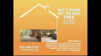 Empire Today TV Spot For Buy Two Rooms, Get House Free - Thumbnail 8