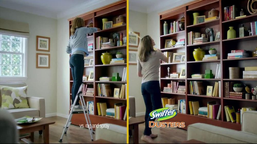 Swiffer 360 Duster Extender Tv Commercial Book Ispot Tv