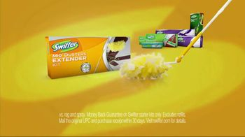 Swiffer 360 Duster Extender TV Spot, 'Book' - Thumbnail 9