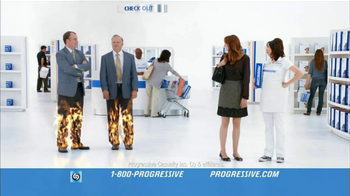 Progressive TV Spot For Direct Rate Comparison No Mas Pantalones