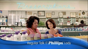 Phillips Relief TV Spot, 'Regular Talk' - 2310 commercial airings