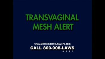 Goza Honnold Trial Lawyers TV Spot For Transvaginal Mesh Alert - Thumbnail 1