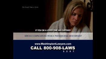 Goza Honnold Trial Lawyers TV Spot For Transvaginal Mesh Alert - Thumbnail 2