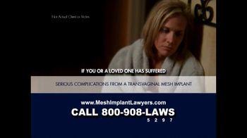 Goza Honnold Trial Lawyers TV Spot For Transvaginal Mesh Alert - Thumbnail 3
