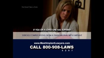 Goza Honnold Trial Lawyers TV Spot For Transvaginal Mesh Alert - Thumbnail 5