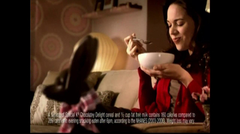 Special K Chocolatey Delight Cereal TV Spot, 'Cravings'