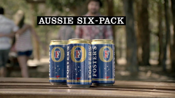Fosters Beer TV Spot For Fosters Six-Pack